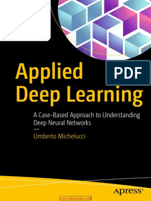 Applied Deep Learning pdf | Deep Learning | Artificial