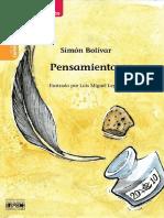 Pensamientos del Libertador Simón Bolívar