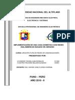 Perfil de Proyecto de Arquitectura de Redes de Comunicaciones