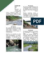 Los Principales Ríos de Guatemala