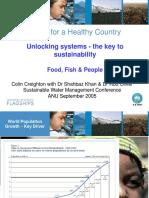 Unlocking Systems- Key to sustainability