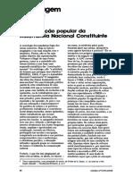 1988 - A percepção popular da Assembleia Nacional Constituinte.pdf
