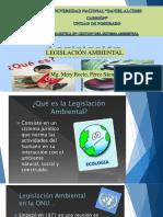 2da Clase de Legislacion Ambiental de UNDAC Mención Gestion Ambiental