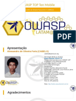 OWASP Top 10 Mobile 2016