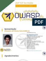 OWASP Top 10 Mobile 2016