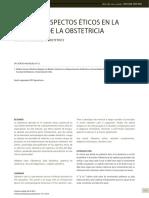 Algunos Aspectos Eticos en La Practica de La Obstetricia. Ana Arevalo