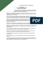 Ley de Ejecución Penal y Supervisión
