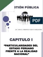 Capitulo i - Particularidades Del Estado Peruano Frente a La Realidad Nacional