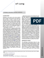 Pathology of Lung Cancer