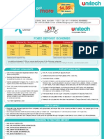 Unitech Fixed Deposit Application Form