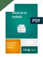 Lectura - Salud en El Trabajo - Programa de Asistencia Integral MOD I - SXXI