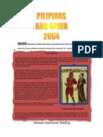 PILIPINAS ANG OPHIR 2004