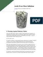 Marc Faber - GloomBoomDoom Market Commentary September 2009_Inflation Breeds Even More Inflation