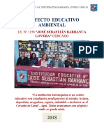 Proyecto Educativo Ambiental  I.E. N° 1156  JSBL Ccesa007