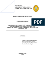 Proyecto de Investigacion Microbiologia