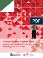Promotores Adolescentes como agentes de cambio frente a la gestión del riesgo de desastres
