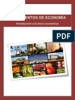Unidad 2 Introduccion a La Teoria Economica
