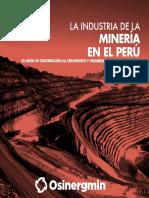 Osinergmin Industria Mineria Peru 20anios