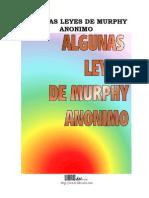 Algunas Leyes de Murphy