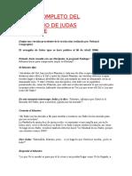 Texto Completo del Evangelio de Judas Iscariote.rtf