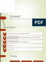 EVAMAT - Administración