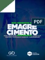 6 - GUIA DEFINITIVO DO EMAGRECIMENTO NOVO - Para Qualquer Profissional Lotar Sua Agenda, Ajudando as Pessoas a Emagrecer