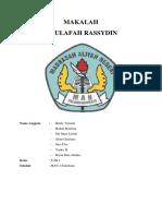 Makalah Abu Bakar