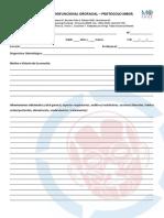[MO-CHILE] Evaluación Miofuncional Orofacial – Protocolo MBGR