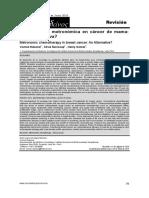 quimioterapia metronomica