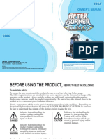 After Burner Climax DLX Manual