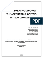 Final Project on Comparative Study of Accounting System of Tata Motors Limited and KEC International Limited1