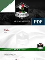 Medias Moviles DT