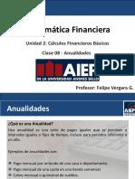 Clase 08 - Anualidades