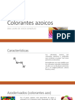 Colorantes azoicos