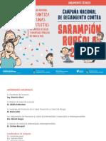 Campaña Sarampión