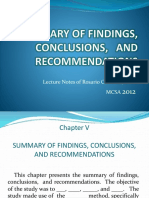 SUMMARY OF FINDINGS, CONCLUSIONS,   AND   RECOMMENDATIONS.pptx