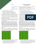 Ujian Praktikum Statistika Dasar