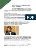 Flavio Cattaneo AD Terna e Guardia Di Finanza Parte Operazione Trasparenza Sugli Appalti