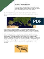 Prehistòria Menorca. Resum