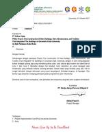 Surat Ijin Pohon Jati