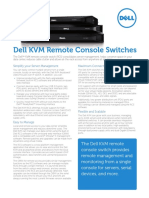 Dell KVM Remote Console Switch Spec Sheet