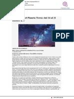 Dal 14 al 21 ottobre la Settimana del Pianeta Terra - Cinque quotidiano.it, 2 ottobre 2018