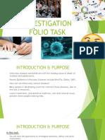 investigation folio task