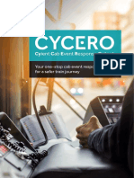 Cyient Cab Event Response Output (Cycero)