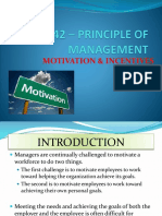 Motivation and Incentives