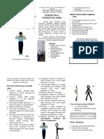 Senam Asma Leaflet