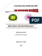 Mecanica de Materiales 2018