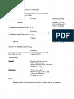 City of Kingston v. Aslan Environmental Services