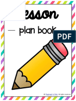 Free Lesson Plan Binder