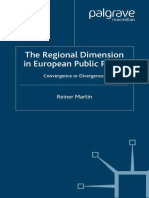 Regional Dimension in European Public Policy Convergence or Divergence